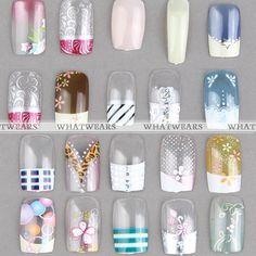 Nail Art Salon, Popular Nail Art, Fabulous Nails, Color, Style, Swag, Colour, Trendy Nail Art, Outfits