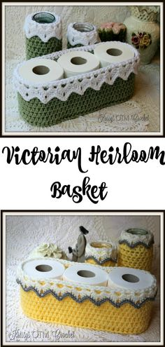 I love how easy this crochet pattern is, and the basket can be used for so many things. #crochet #crochetpattern #DIY #basket #storage #crochetlace #lace #krissysOTMcrochet