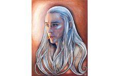 Original illustration  The King of the elves elven by JankaLart