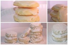 White Chistmas cookies by Amelia PS, via Flickr