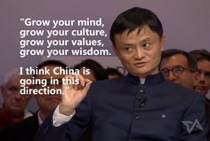 Top 15 best quotes from Jack Ma's interview at Davos Business Motivational Quotes, Career Quotes, Business Quotes, Success Quotes, Life Quotes, Inspirational Quotes, Quotes By Famous People, Famous Quotes, Best Quotes
