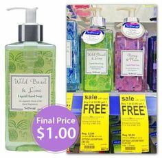 Softsoap Hand Soap, Only $1.00 at Walgreens!