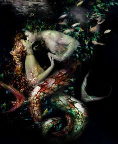 ♒ Mermaids Among Us ♒ art photography paintings of sea sirens & water maidens - The Sea | The-Kiss