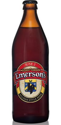 Emersons JP 2012: Beer from New Zealand in Belgium Style -