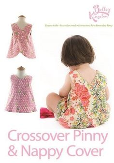"""Crossover Pinny"" designed by Bettsy Kingston."