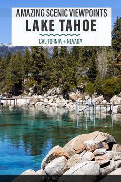 Kings Beach Lake Tahoe, Lake Tahoe Vacation, South Lake Tahoe, Northern California Beaches, Lakes In California, California Mountains, California Getaways, California Travel Guide, California Vacation