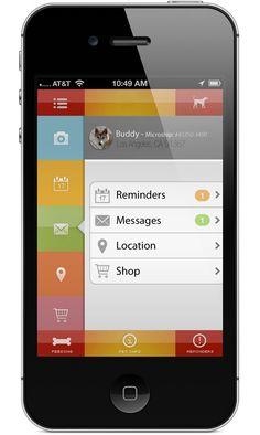 Pet Feeding Mobile UI Design Inspiration