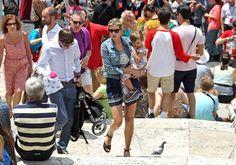 Ivanka Trump - Ivanka Trump Shows Off Her Baby Bump in Rome