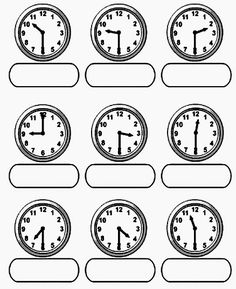 Clock Worksheets, 3rd Grade Math Worksheets, Free Printable Math Worksheets, Phonics Worksheets, School Worksheets, Maths Solutions, Alphabet Coloring Pages, Homeschool Math, Math Facts