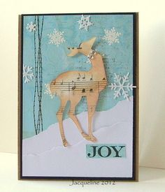 Jacqueline's Craft Nest: Busy.. and a couple of Christmas Cards