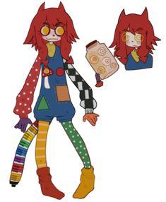 Cute Art Styles, Cartoon Art Styles, Cute Characters, Pretty Art, Character Design Inspiration, Clowns, Furry Art, Animes Wallpapers, Cute Drawings