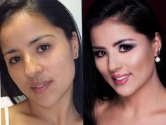 Antes e depois  Before after makeup  By @vamatsui