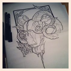 Sara Fabel Tattoo Design