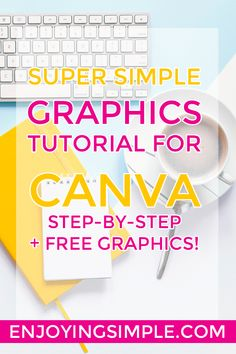 Free Graphic Design Tools – A Canva Tutorial — Enjoying Simple – Enjoying Simple Graphic Design Tools, Graphic Design Tutorials, Tool Design, Web Design, Free Graphic Design Software, Design Ideas, Digital Marketing Strategy, Content Marketing, Free Graphics