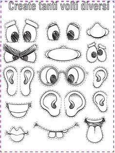 On The Road Through Kindergarten - center - Álbumes web de Picasa English Activities, Preschool Activities, Coloring Books, Coloring Pages, Monster Crafts, Art Plastique, Teaching English, English Kindergarten, School Projects