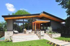Portland Modern Home @ McGlashan Architecture Modern House Facades, Modern Architecture House, Modern House Design, Sustainable Architecture, Pavilion Architecture, Building Architecture, Chinese Architecture, Futuristic Architecture, Residential Architecture