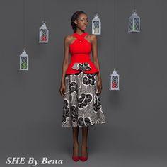she-by-bena ~African fashion, Ankara, kitenge, African women dresses, African prints, Braids, Nigerian wedding, Ghanaian fashion, African wedding ~DKK