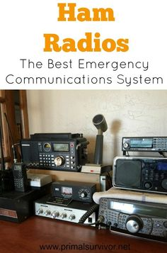 Ham Radios: The Best Emergency Communications System. Have you ever thought of how you would get in touch with your loved ones after a disaster? Too many people rely on their cell phones and the internet, and take it for granted that these systems will be there for them. This is exactly what happened in the aftermath of disasters like hurricanes Katrina and Sandy. Communications systems were wiped out, and it was ham radio operators who came to the rescue.