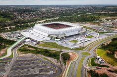 Brazil's Arena Pernambuco stadium is powered by a 1MW solar facility. http://www.power-technology.com/features/featuregreen-clean-mean---the-worlds-most-environmentally-friendly-sports-stadiums-4278520/