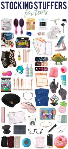 Wrapping up your holiday shopping and looking for some teen gift ideas for their stocking? As the mom of two teens, I put together this list of stocking stuffer ideas for teens to help you Christmas Gifts For Teen Girls, Teen Girl Gifts, Christmas Gifts For Girls, Christmas Presents, Christmas Christmas, Holiday Gifts, Cool Gifts For Girls, Best Gifts For Teens, Gift For Boys