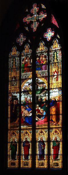 Kölner Dom, Cologne, Deutschland #cathédrale #vitraux