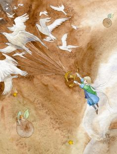 The Little Prince by Ya-Ong Nero (Love this! My fave book too!)