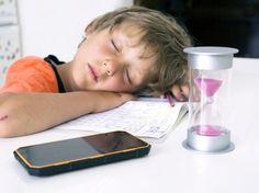 ¿Cuántas horas deben dormir los niños de cada edad?
