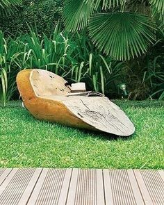 Ideas woodworking projects garden furniture for 2019 Tree Furniture, Rustic Furniture, Garden Furniture, Deco Nature, Wood Creations, Backyard Landscaping, Wood Crafts, Diy Wood, Woodworking Projects