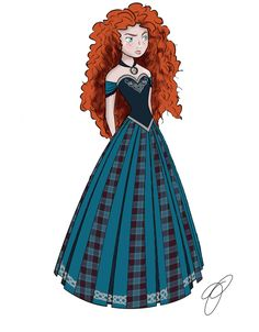 Coronation Dress: Merida by JadynNytewell