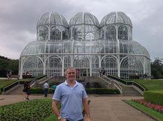 Jardim Botânico em Curitiba.