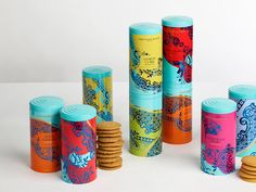 For extraordinary teatimes: Design Bridge has designed the vibrant  packaging for Fortnum & Mason's core range of biscuits. The designs draw  inspiration from decorative ceramics and fine china, the very objects most  often found being utilized for tea time.