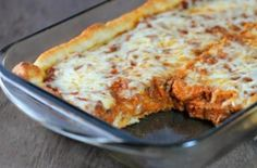 Deep Dish Pizza Casserole - Weight Watchers Recipes