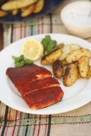 Grilled Salmon Recipe With Memphis Rub