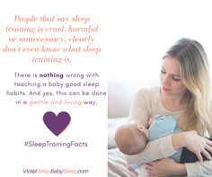 #SleepTrainingFacts