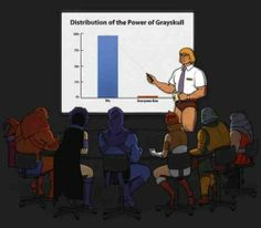 How to distribute the power of greyskull