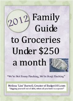 Melissa u201cLissu201d Burnell has provided an extensive frugal living resource online for over a decade and presents a 2012 Grocery guide for struggling ...