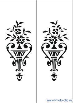 Пескоструйный рисунок ваза 8