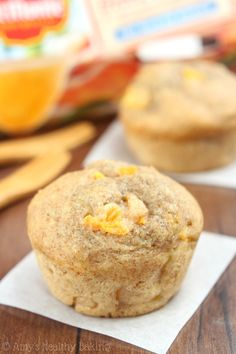 whole wheat honey peach muffins whole wheat honey peach muffins from ...