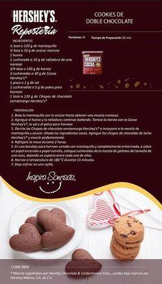 Hershey's® Repostería tiene las mejores recetas para ti. #Hersheys #Chocolate #InspiraSonrisas #Repostería #Postres #Receta #DIY #Bakery #Pastel