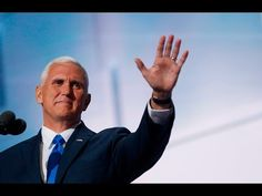 IN Governor & Vice Presidential Nominee Mike Pence Speech • 2016 Republican Convention • 20 July 2016 https://www.youtube.com/watch?v=Q733Uzs023I