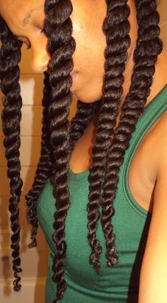 I just love the length of her twist