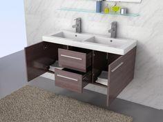 marron glace salle de bain contemporaine meuble salle de bain meubles mobilier