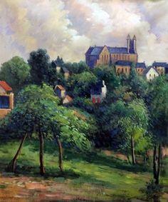 Paul Gauguin - Notre Dame des Agnes, 1884 - Canvas Art & Reproduction Oil Paintings