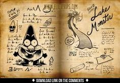 Gravity Falls - Journal Spread 07 by evilself on DeviantArt Libro Gravity Falls, Gravity Falls Book, Gravity Falls Journal, Gravity Falls Bill Cipher, Iron Man Wallpaper, Dipper And Mabel, Fallen Book, Amazing Spiderman, Cartoon Shows