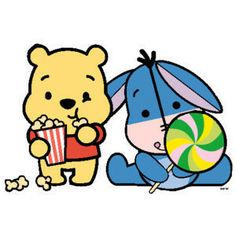 Winnie Pooh & Igor Cutie ♡ this is so cute I love tsum tsum they are so adorable love them