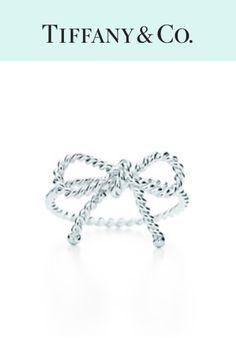Tiffany twist bow ring @liannebenson #bow