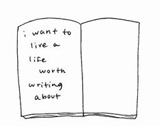 live a life.