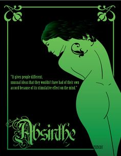 Absinthe Fairy by dnobody on DeviantArt Absinthe Fairy, Photo Art, Fantasy Art, Artemisia Absinthium, Art, Green Fairy Absinthe, Absinthe Art, Vintage Posters, Green Fairy