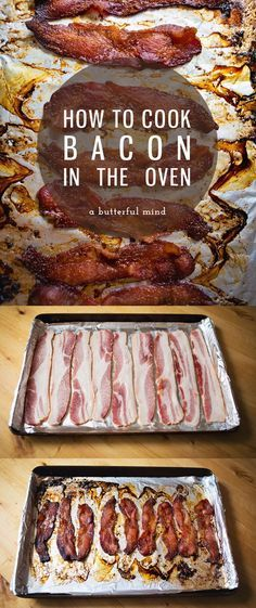 How to cook bacon in the oven so you have room on the stovetop for breakfast prep!