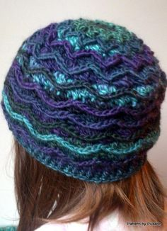 Crocheting: Ziggy Hat - Free crochet pattern
